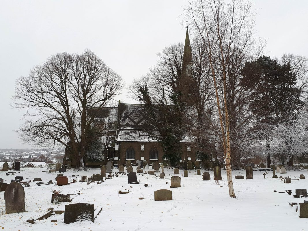 St Mark's Church in the Snow