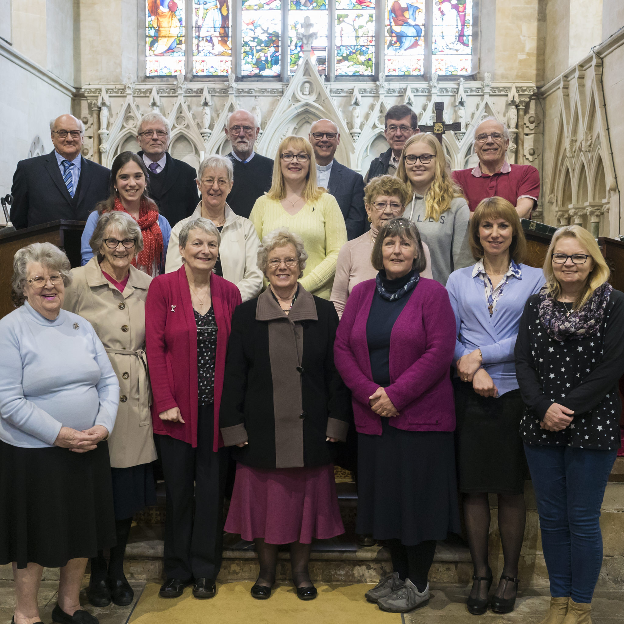 PCC Group Photo at St Mark's Church